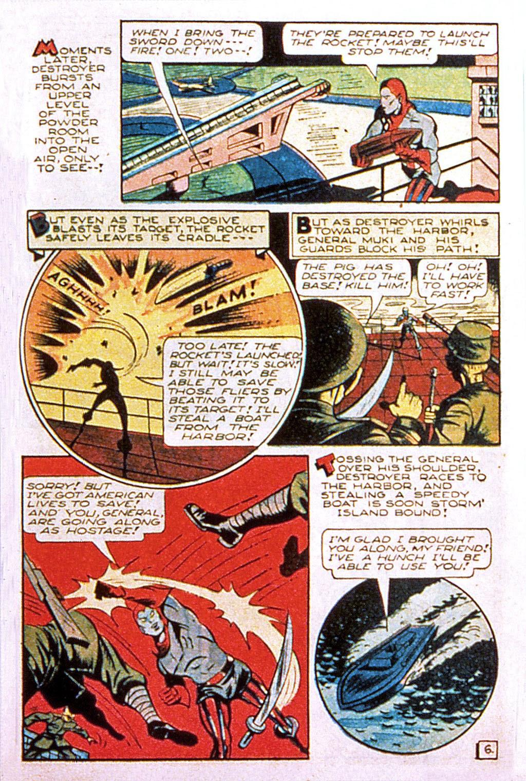 Read online Mystic Comics (1944) comic -  Issue #2 - 33