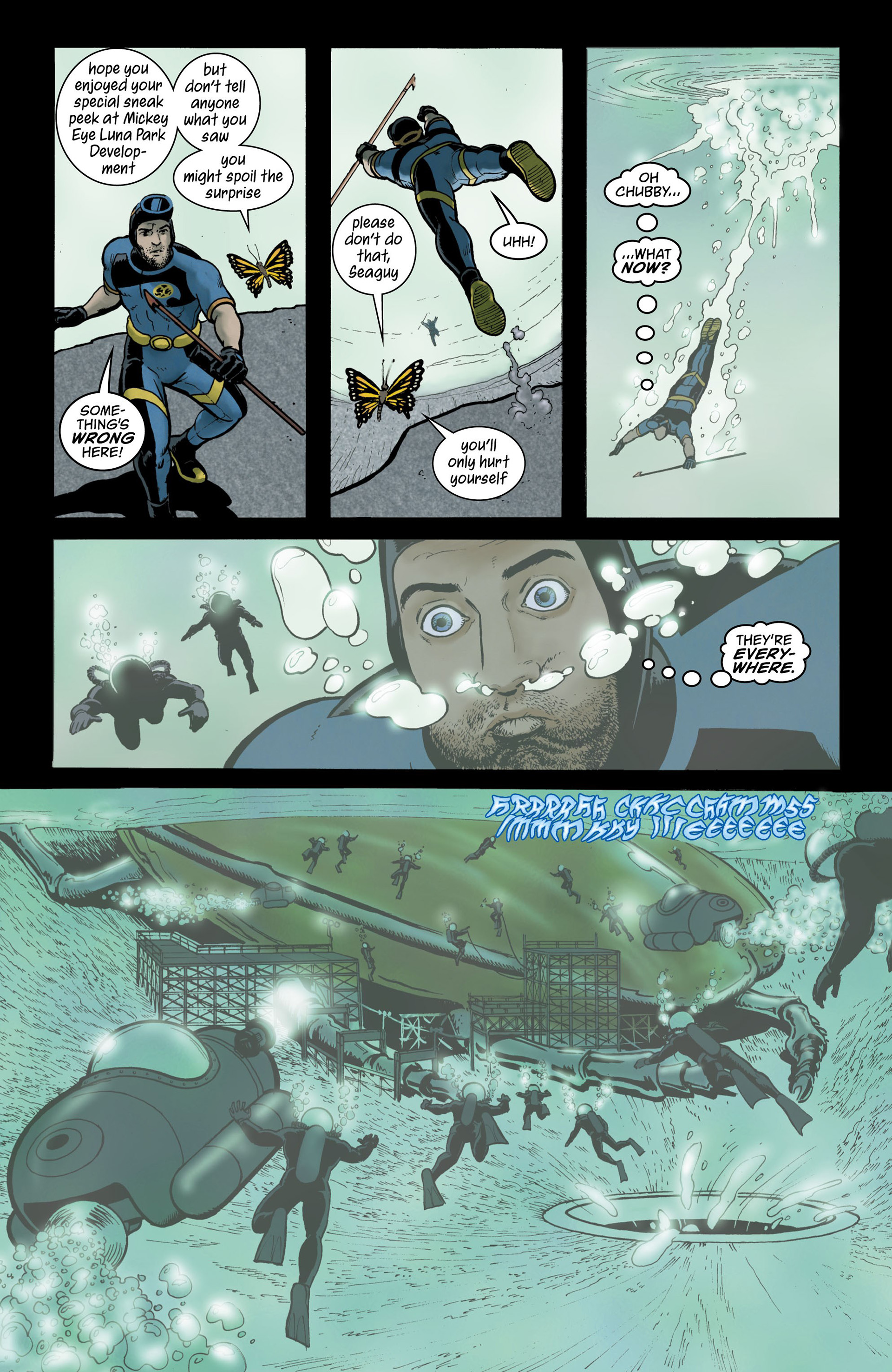Read online Seaguy comic -  Issue #3 - 25