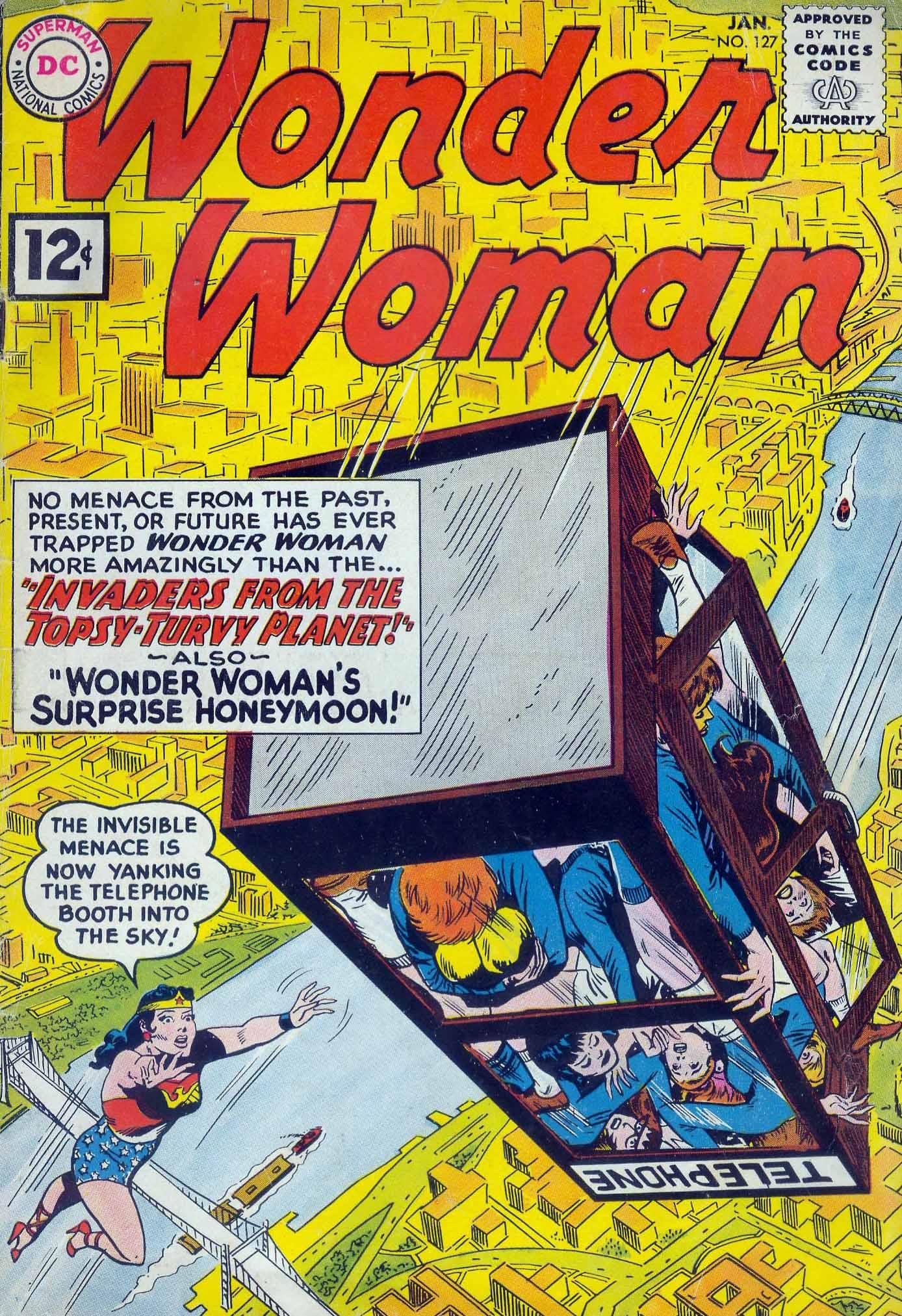 Read online Wonder Woman (1942) comic -  Issue #127 - 1