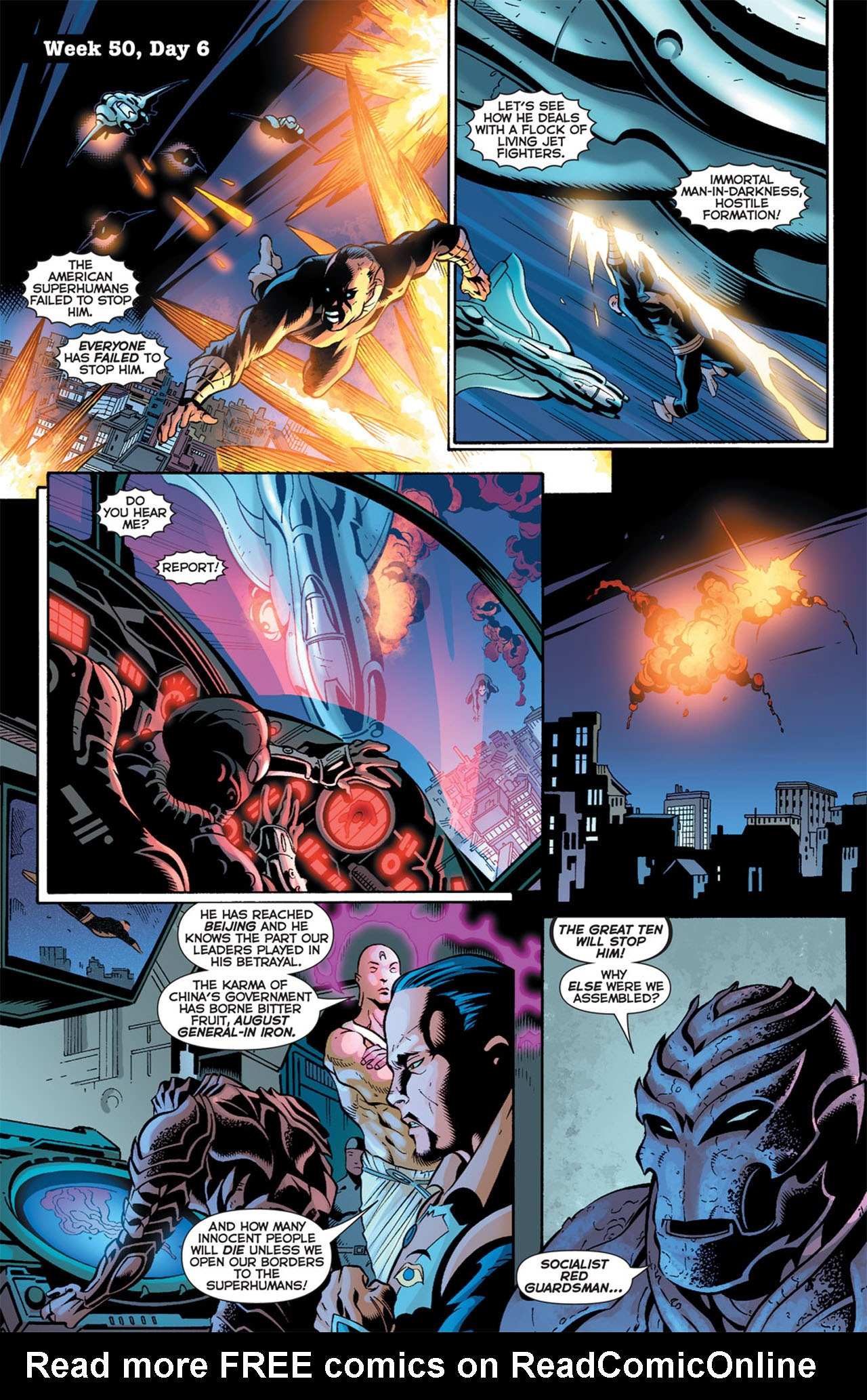 Read online 52 comic -  Issue #50 - 6