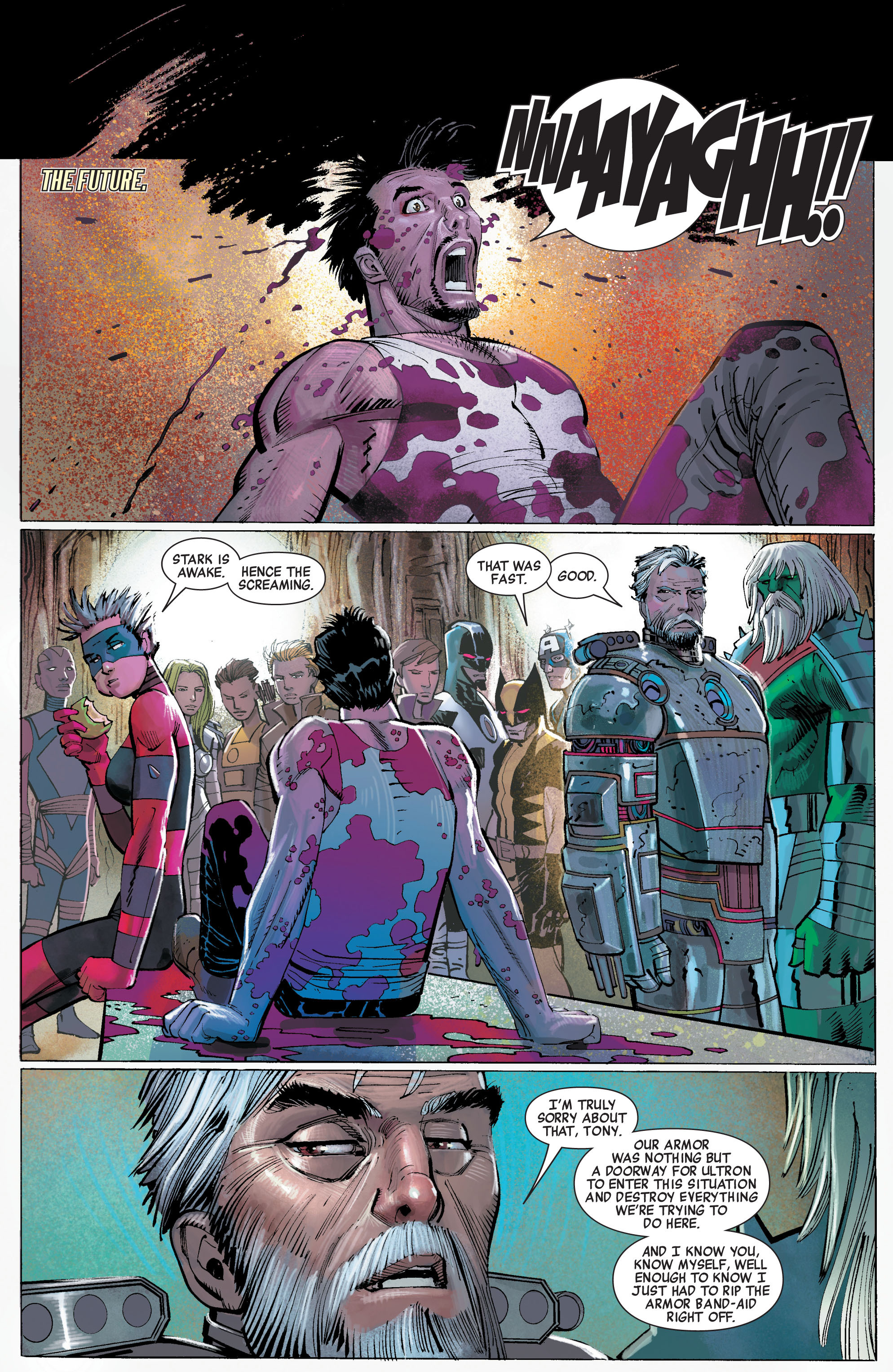 Read online Avengers (2010) comic -  Issue #5 - 6