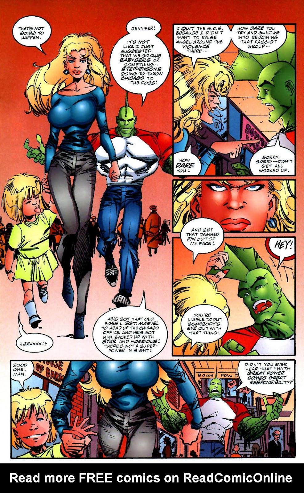 The Savage Dragon (1993) Issue #59 #62 - English 15
