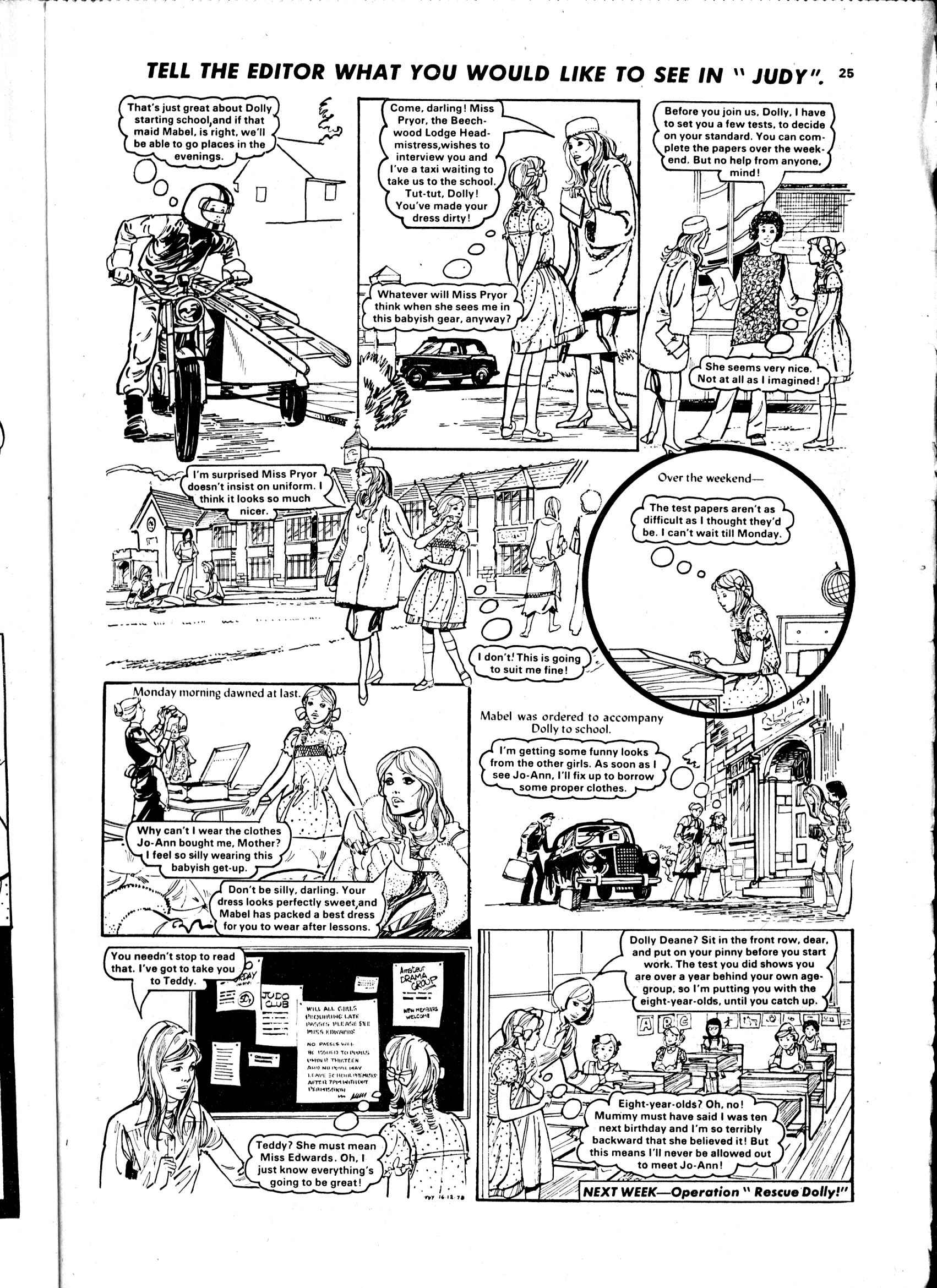 Read online Judy comic -  Issue #988 - 25