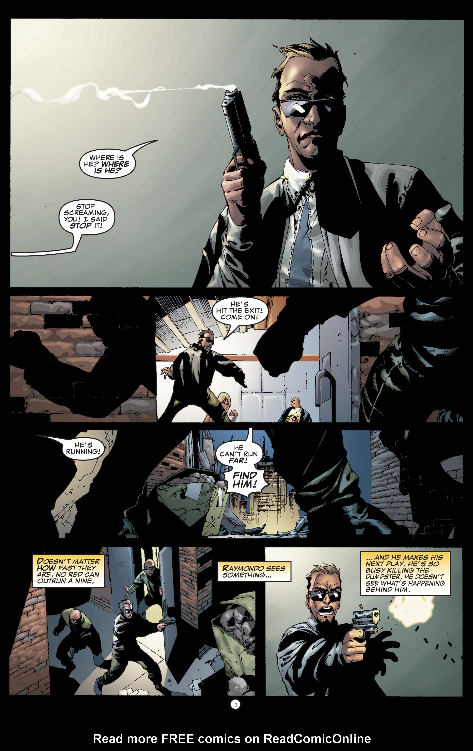 Read online Shadowman (1999) comic -  Issue #5 - 5
