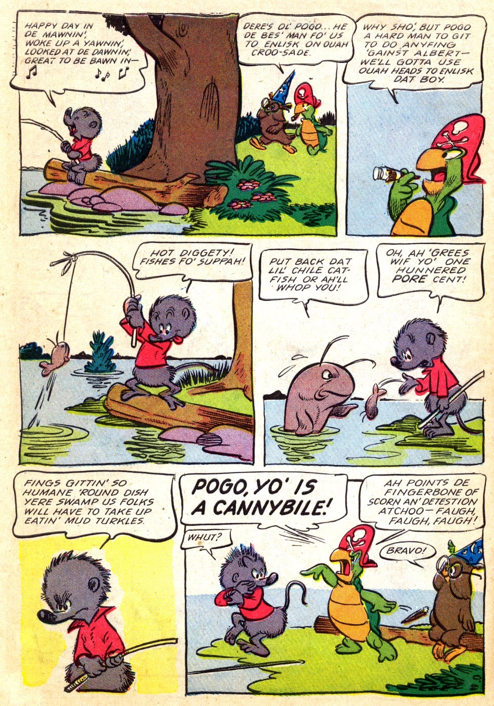 Read online Animal Comics comic -  Issue #22 - 14