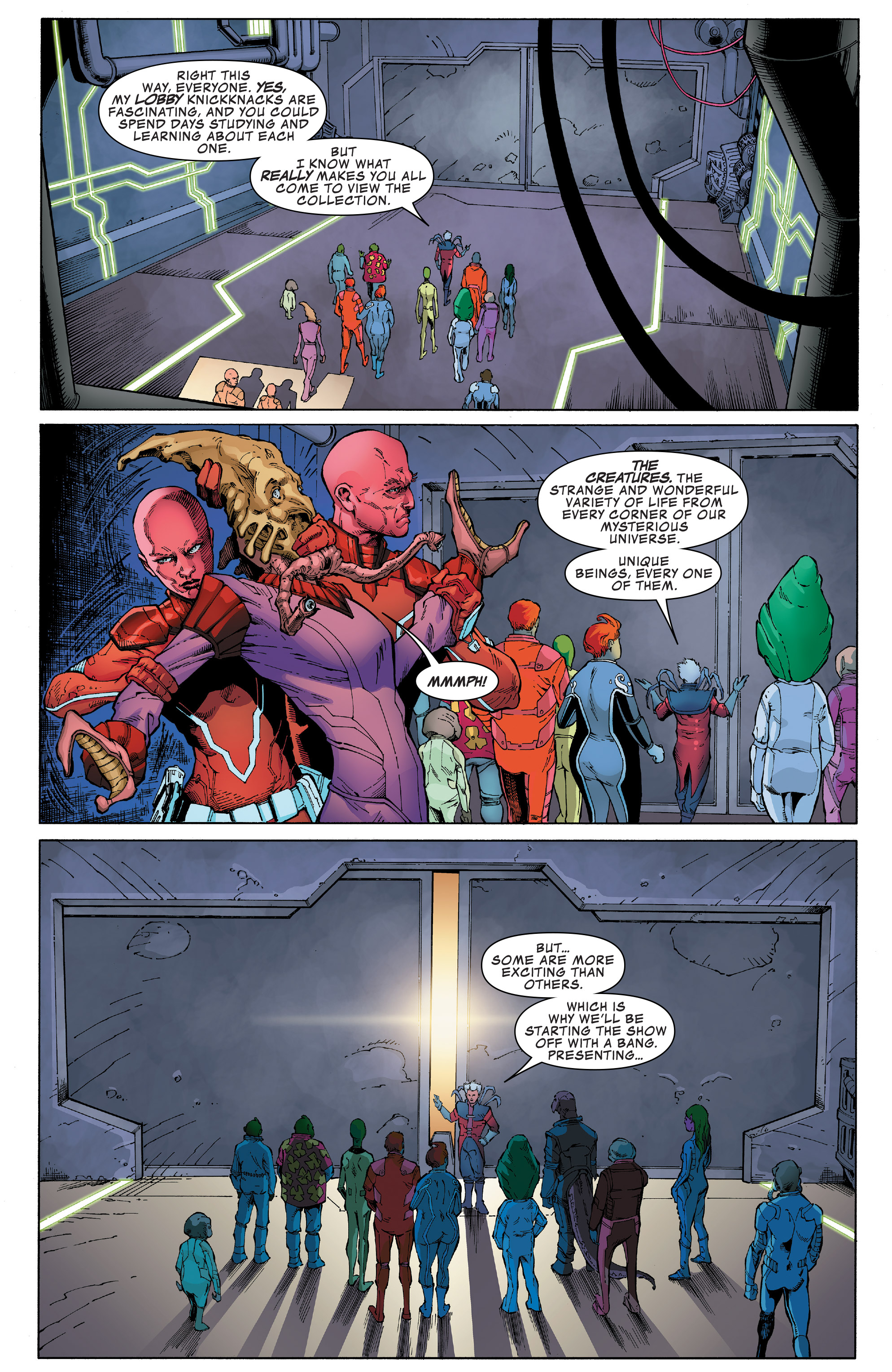 Read online Guardians of the Galaxy: Mission Breakout comic -  Issue # Full - 5