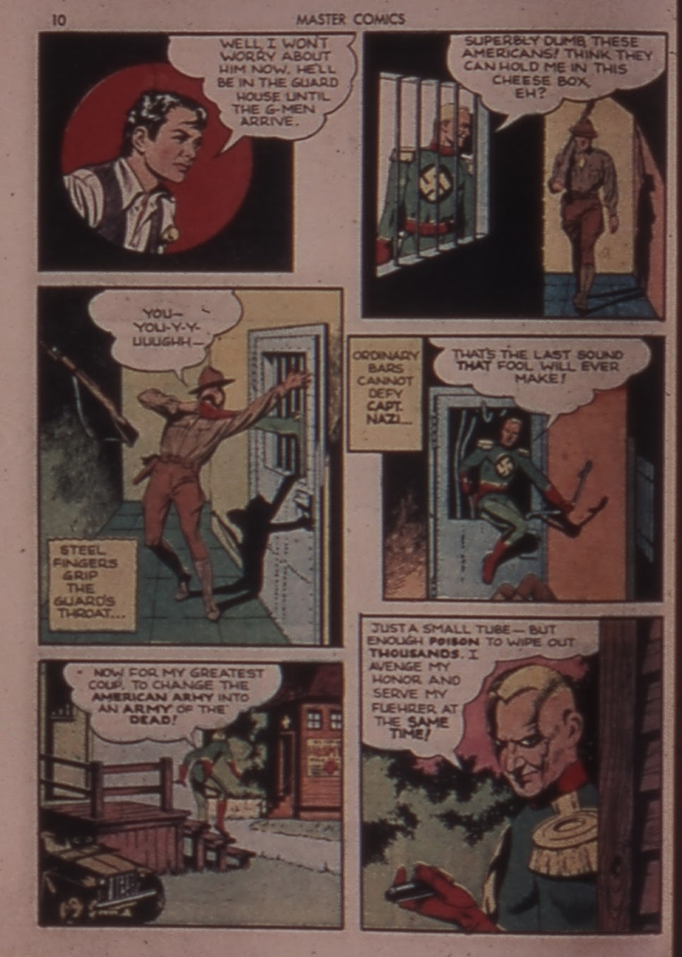 Master Comics issue 30 - Page 10