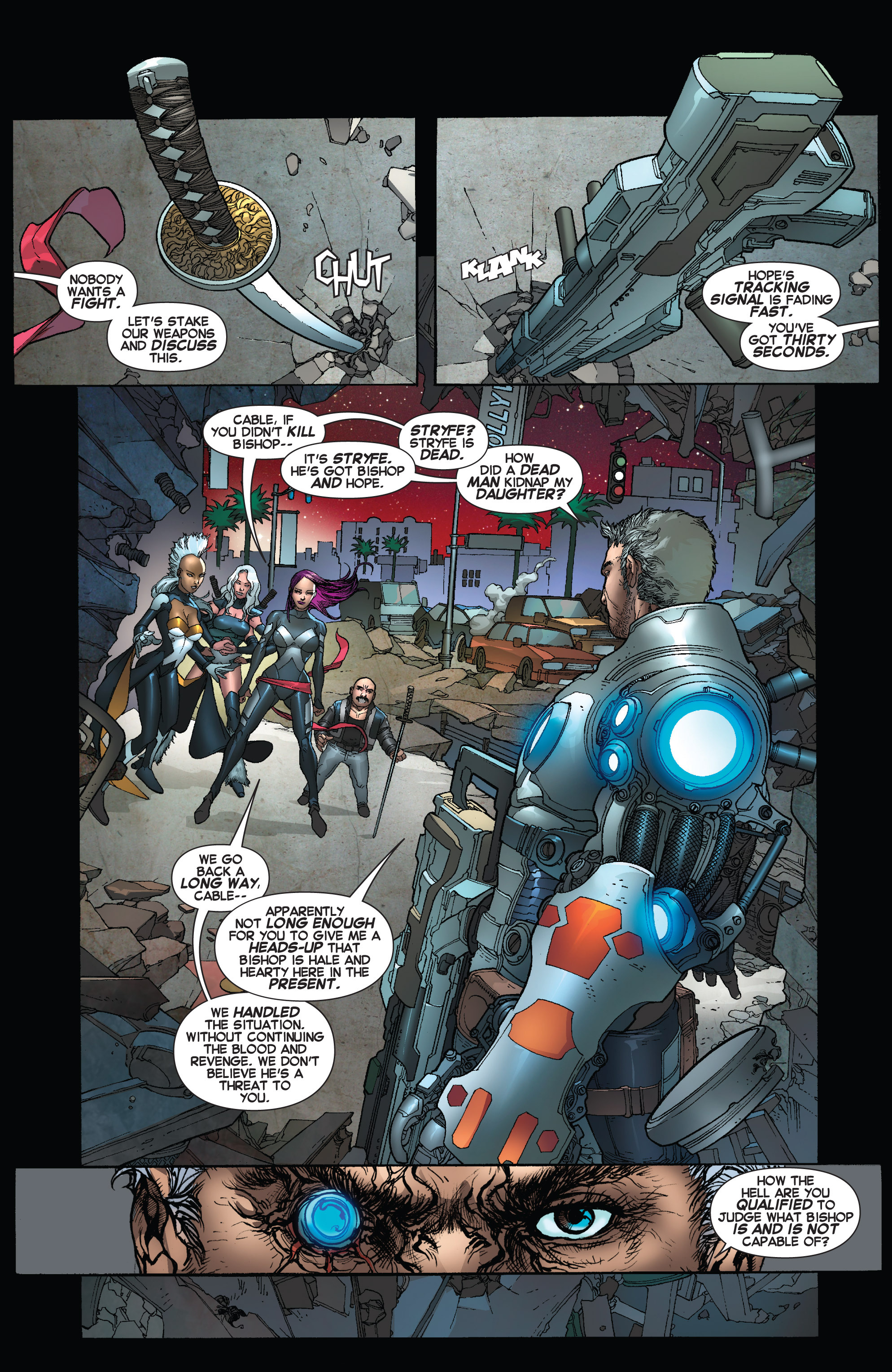 Read online Uncanny X-Force (2013) comic -  Issue #16 - 3
