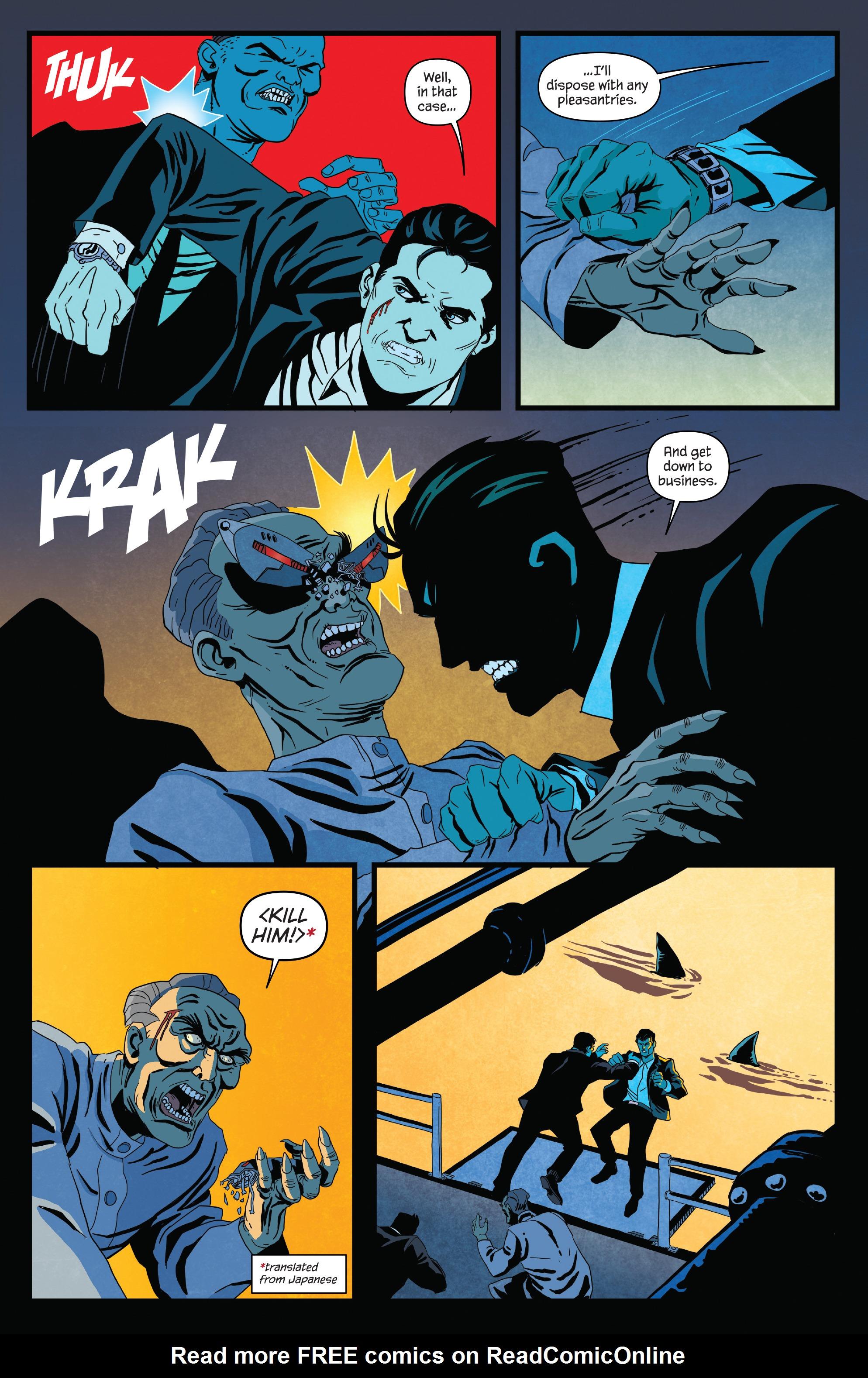 Read online James Bond (2017) comic -  Issue #2 - 16