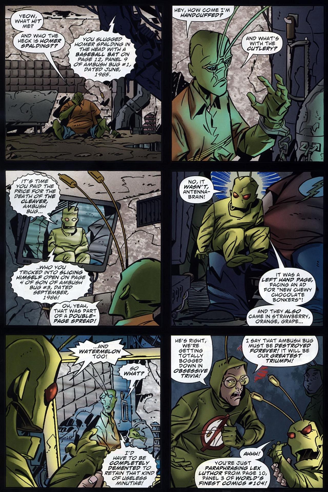 Read online Ambush Bug: Year None comic -  Issue #4 - 22