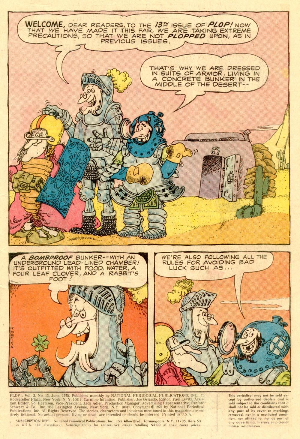Read online Plop! comic -  Issue #13 - 3