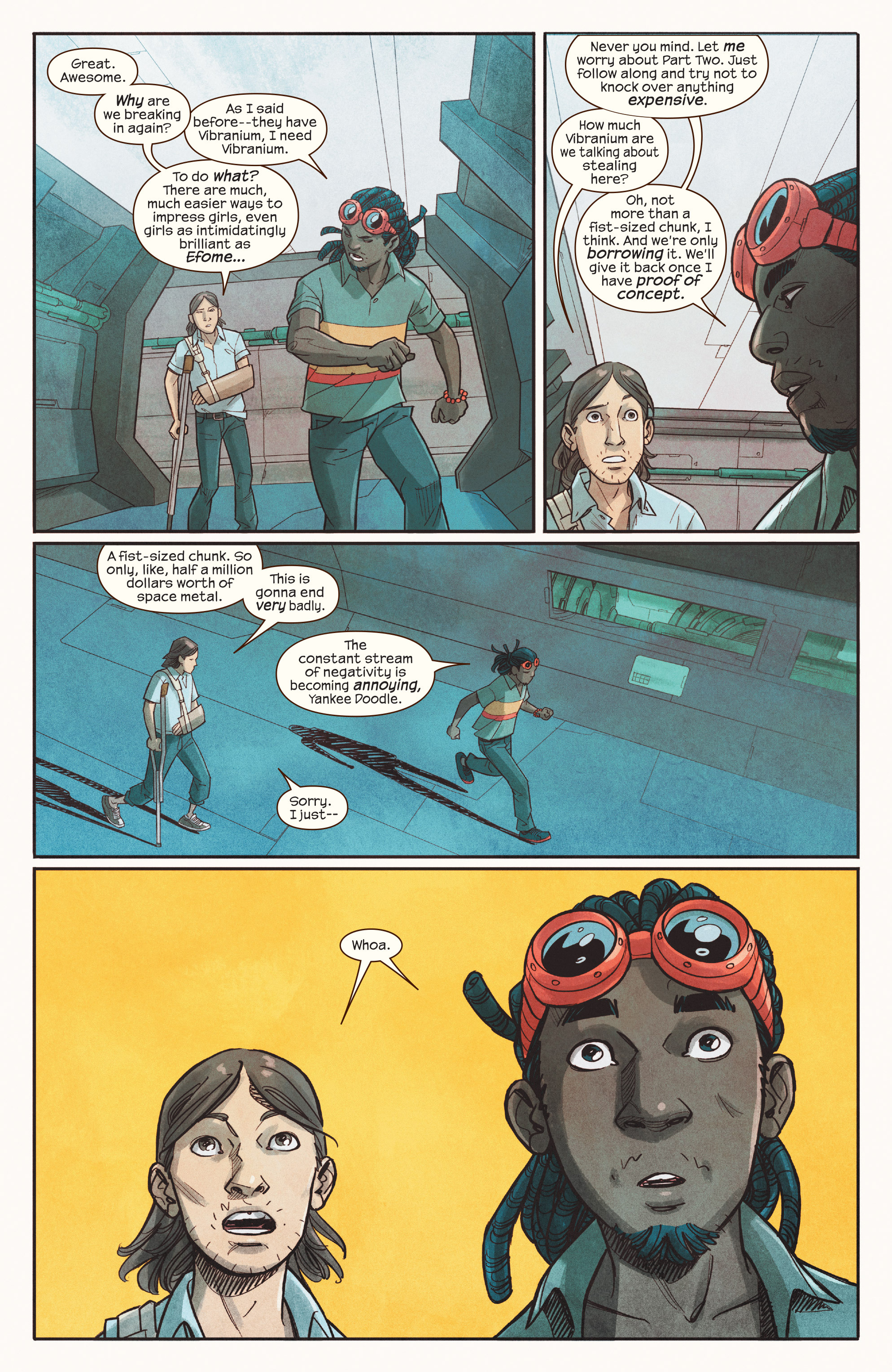 Read online Ms. Marvel (2016) comic -  Issue #18 - 12