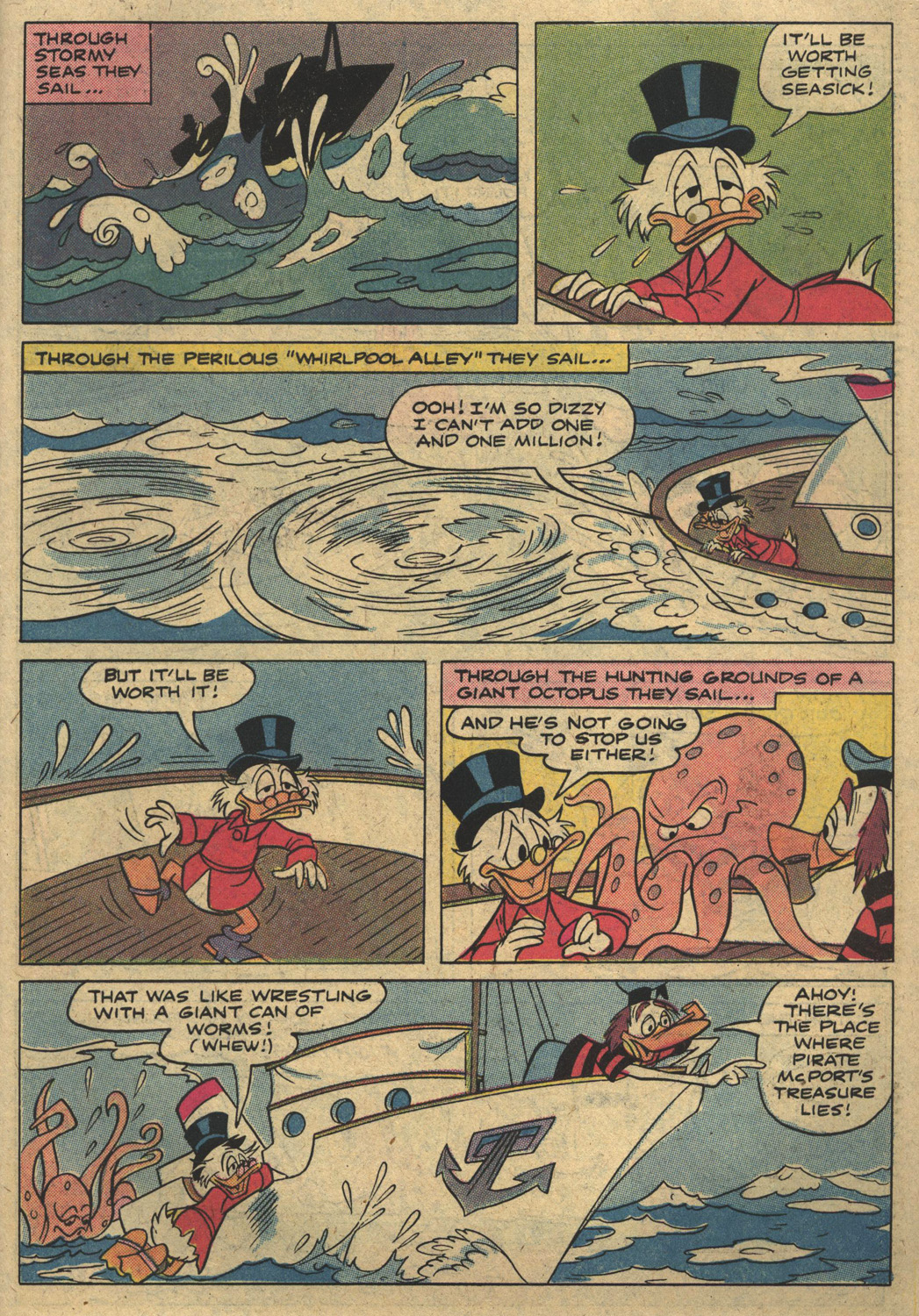 Read online Uncle Scrooge (1953) comic -  Issue #186 - 27