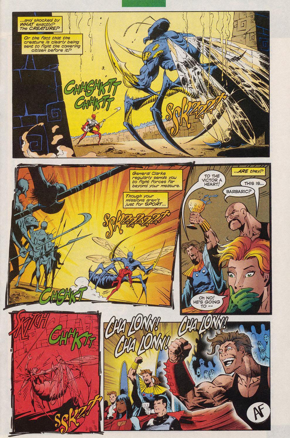 Read online Alpha Flight (1997) comic -  Issue #10 - 18