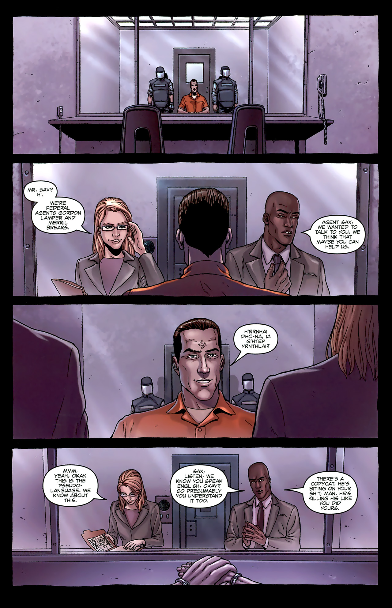 Read online Alan Moore's Neonomicon comic -  Issue #1 - 16
