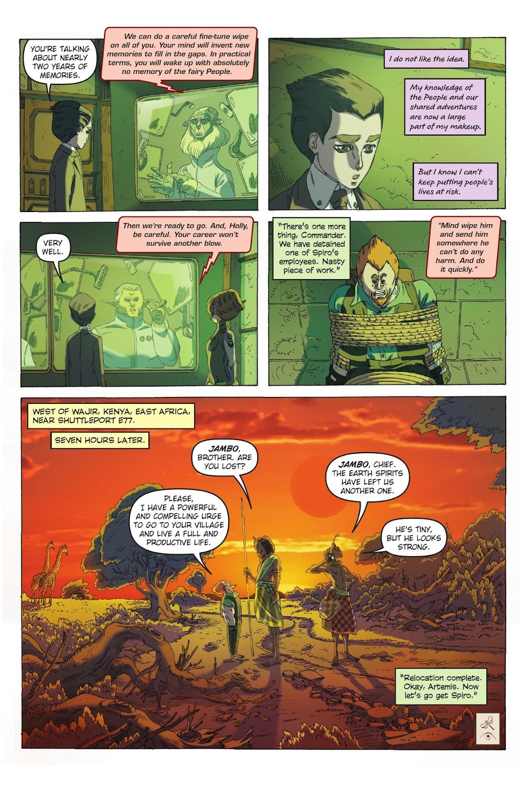 Artemis Fowl: The Eternity Code issue TPB - Page 66