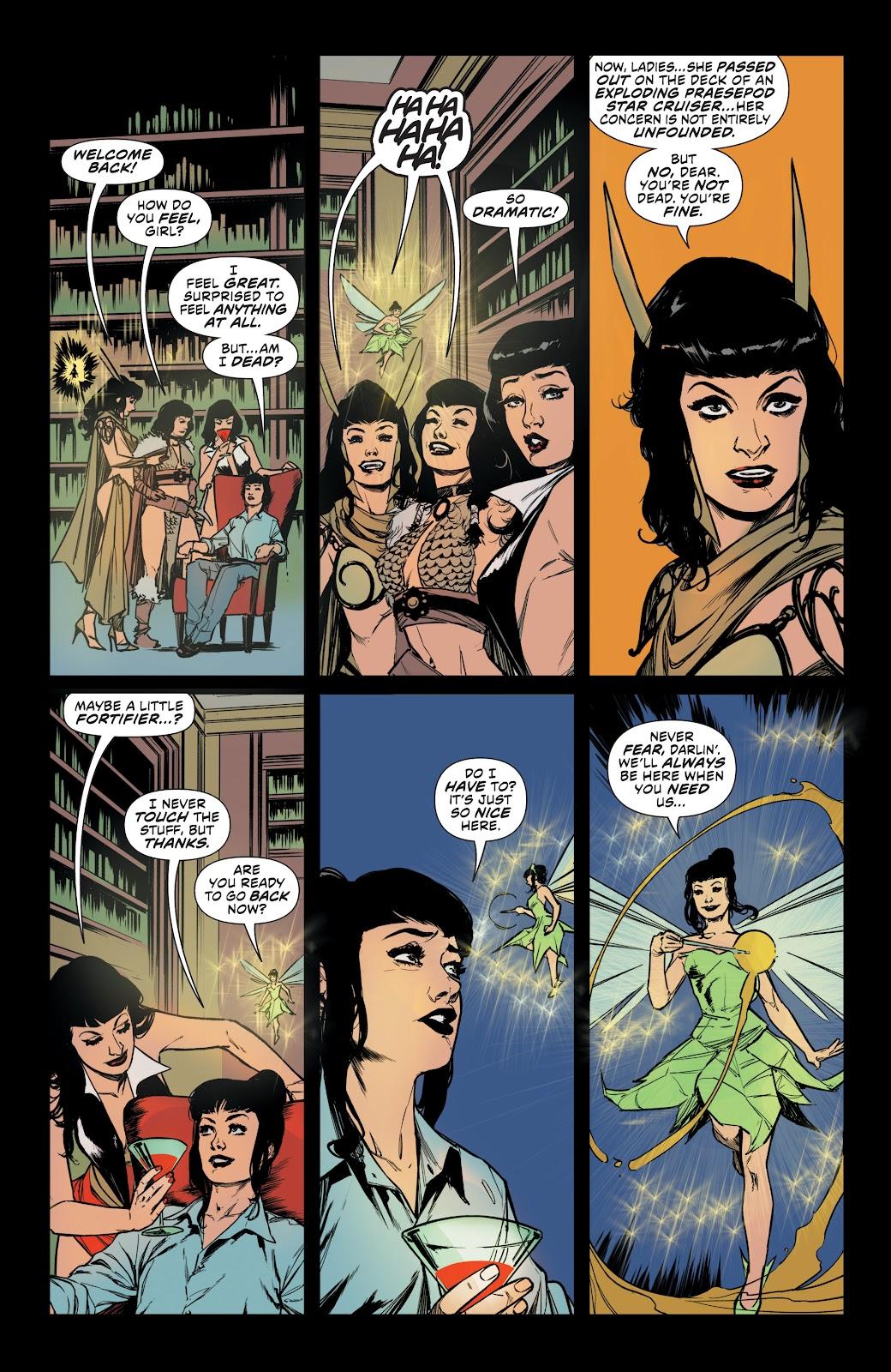 Read online Bettie Page: Unbound comic -  Issue #10 - 24