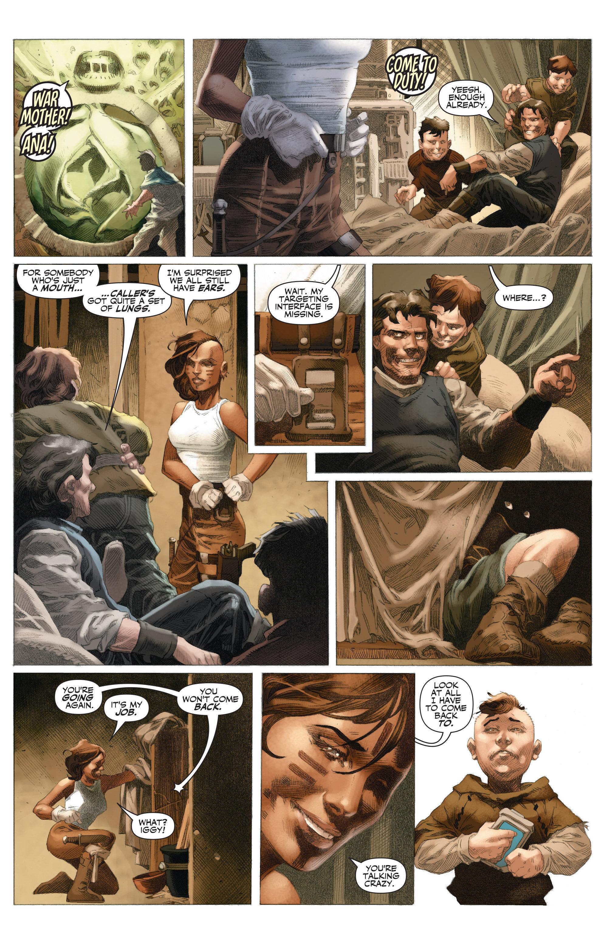 Read online 4001 A.D.: War Mother comic -  Issue #4001 A.D.: War Mother Full - 4