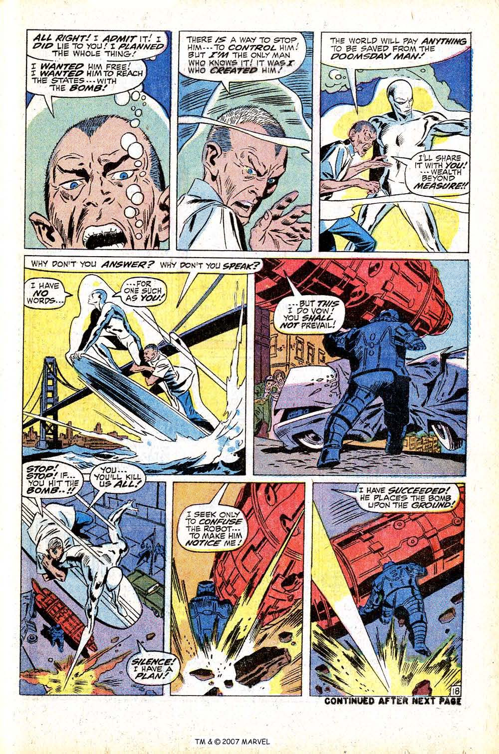 Read online Silver Surfer (1968) comic -  Issue #13 - 25