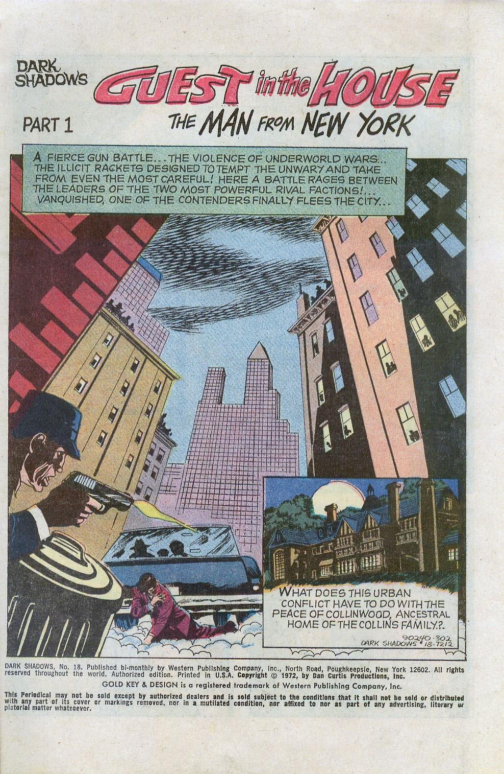 Dark Shadows (1969) issue 18 - Page 3