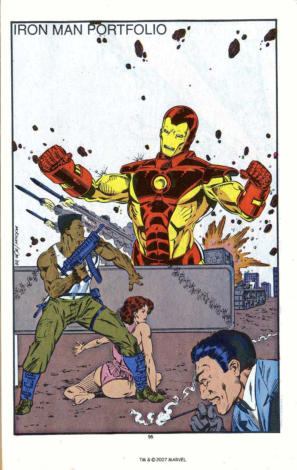 Iron Man Annual issue 10 - Page 57