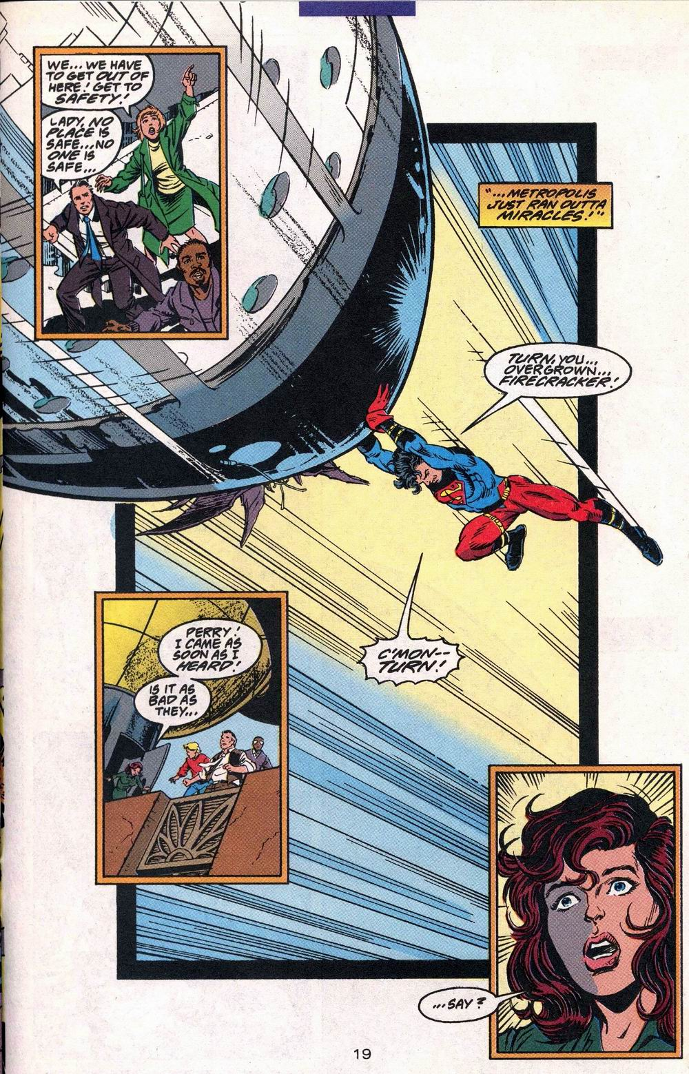 Read online Adventures of Superman (1987) comic -  Issue #504 - 20