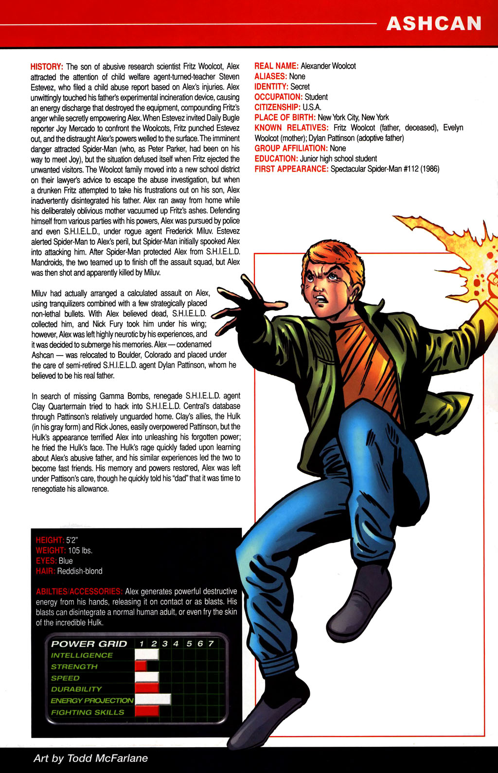 Read online All-New Official Handbook of the Marvel Universe A to Z comic -  Issue #1 - 33