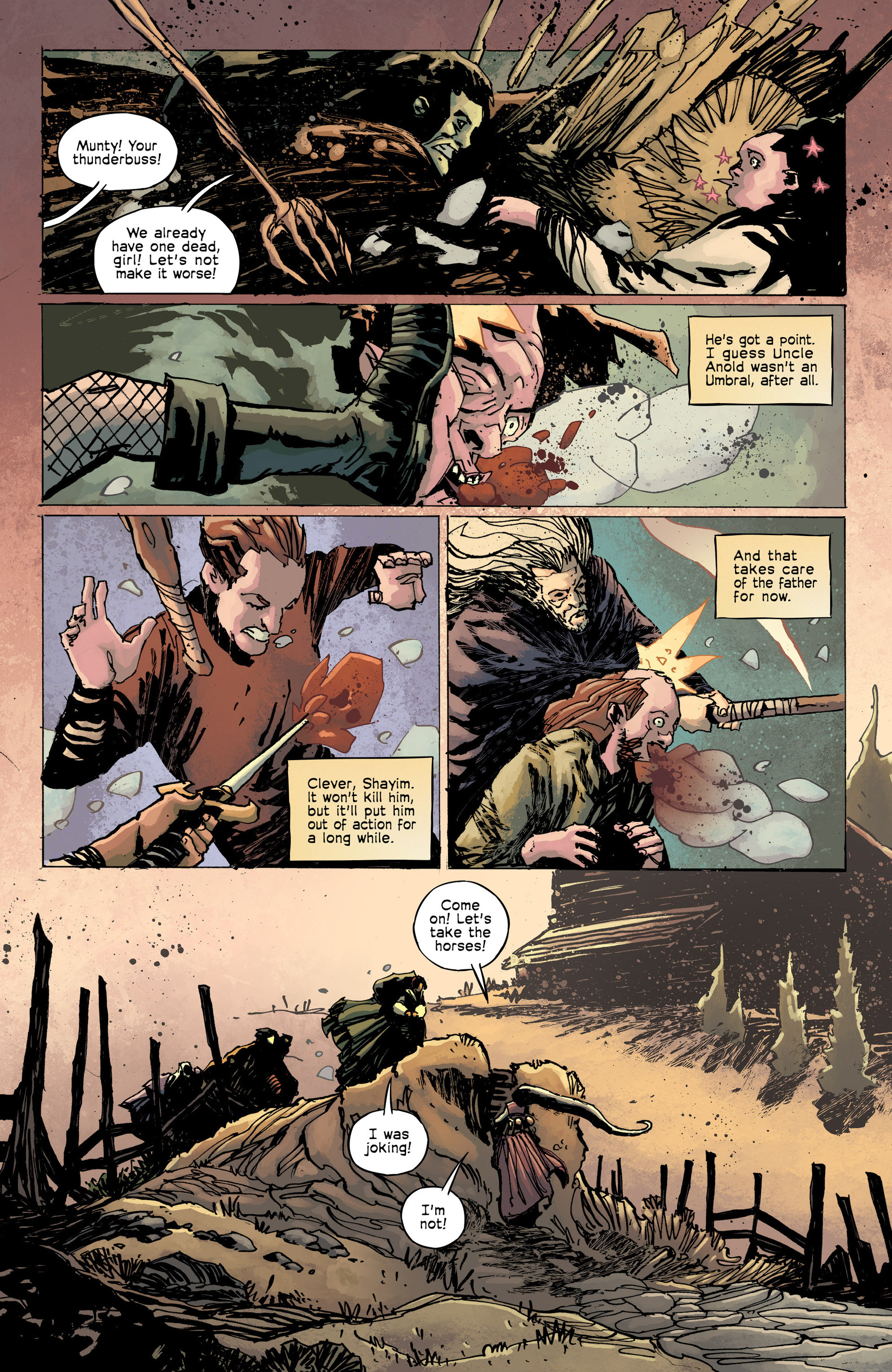 Read online Umbral comic -  Issue #8 - 5