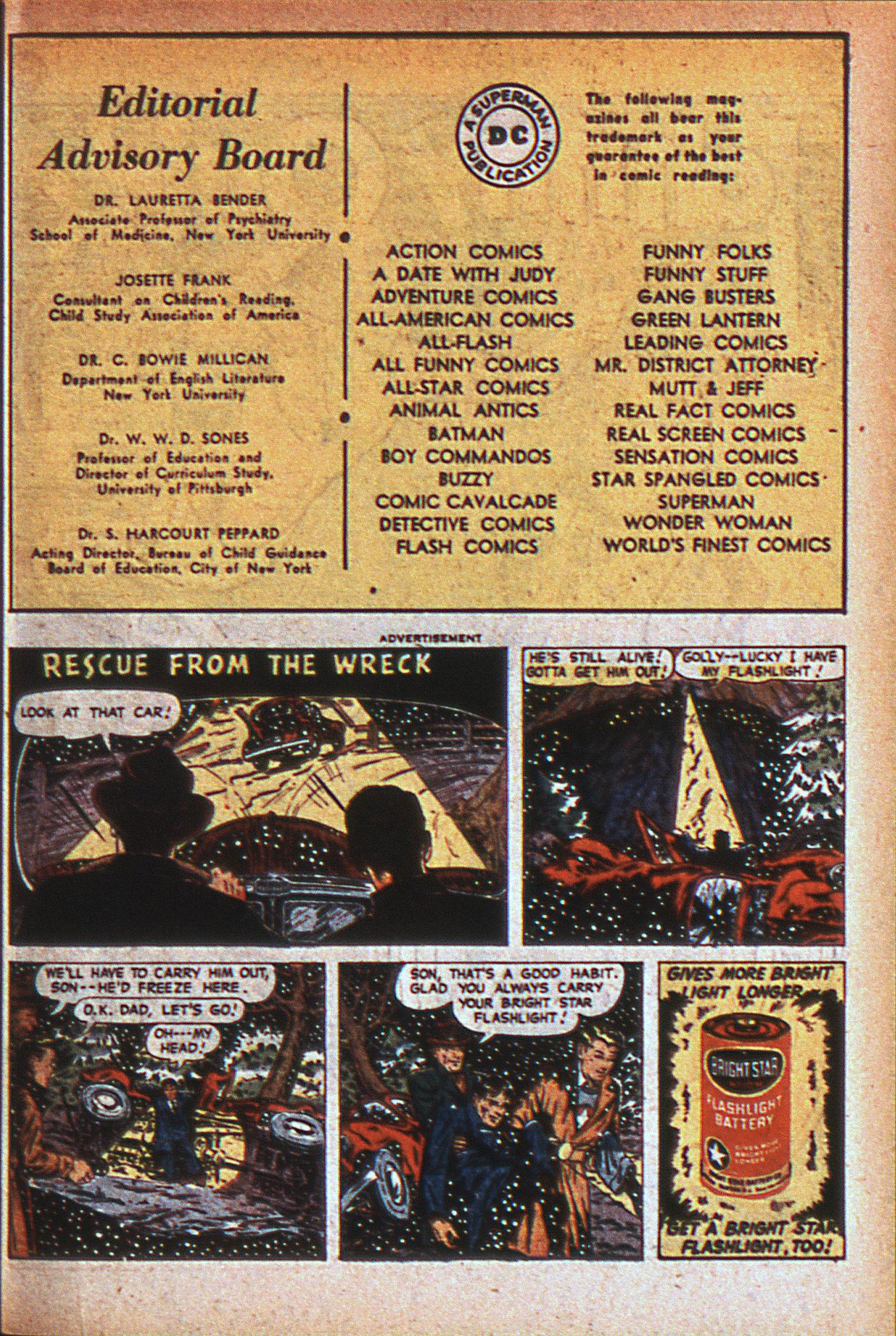 Read online Adventure Comics (1938) comic -  Issue #124 - 40