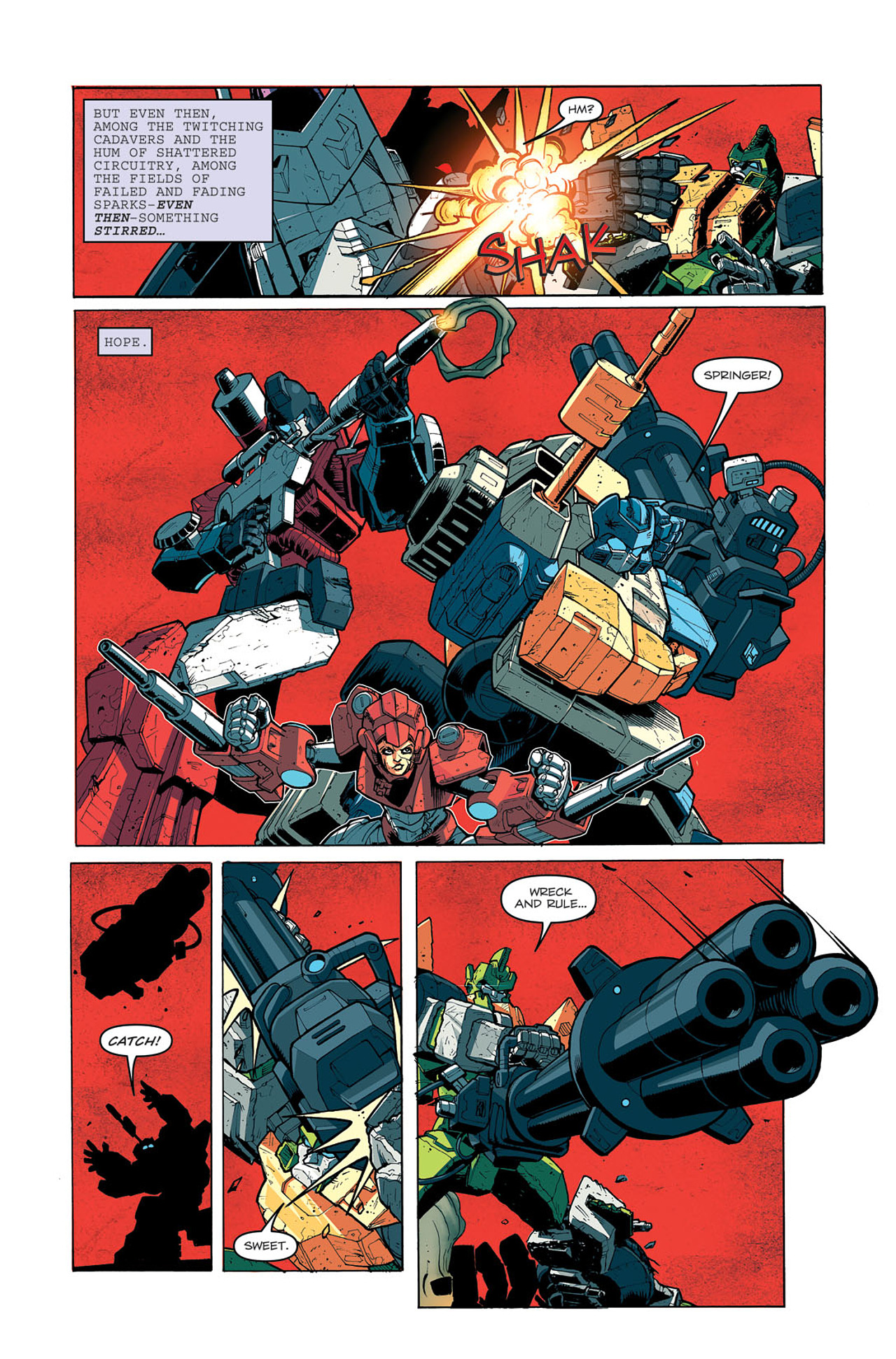 Read online Transformers: Last Stand of The Wreckers comic -  Issue #5 - 15