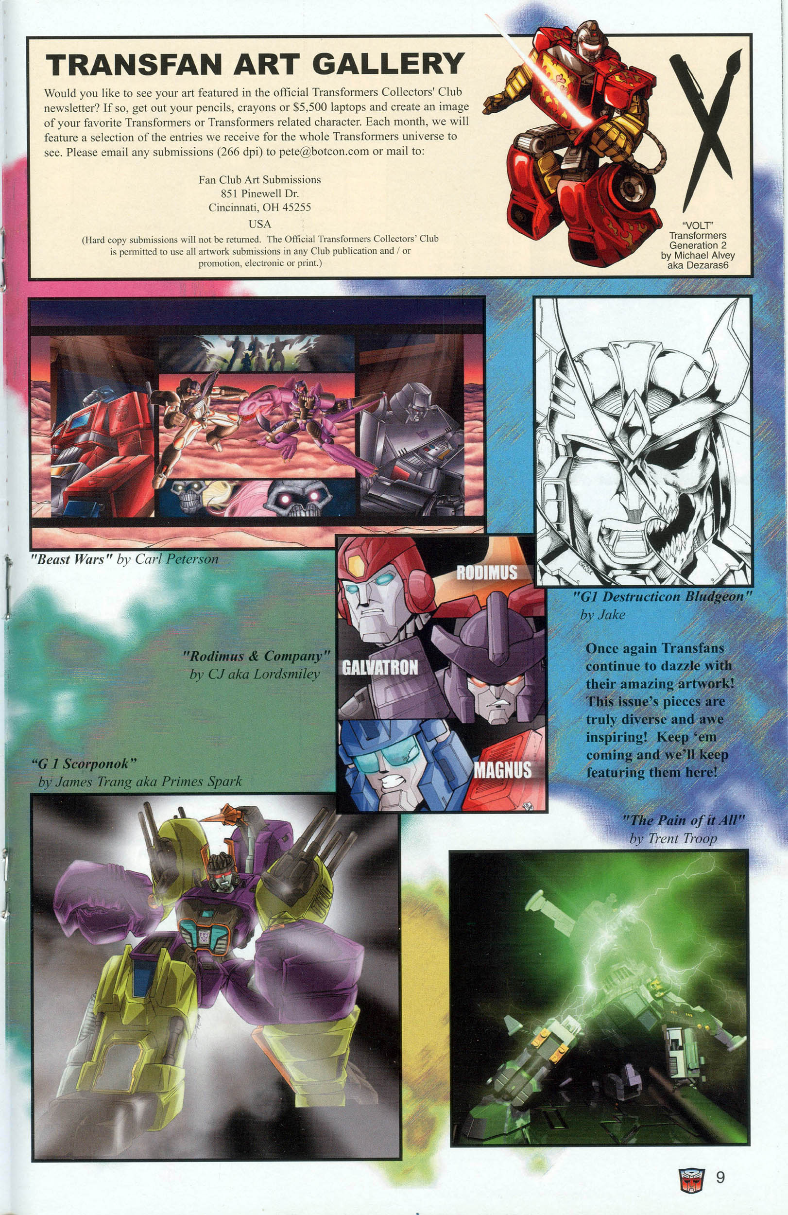 Read online Transformers: Collectors' Club comic -  Issue #7 - 9
