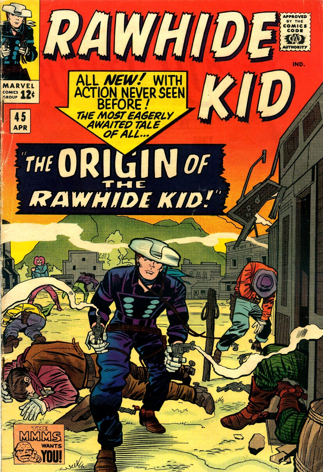 The Rawhide Kid (1955) issue 45 - Page 1