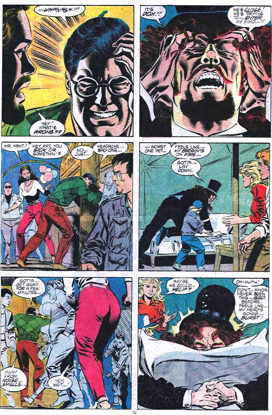 Read online Adventures of Superman (1987) comic -  Issue #438 - 16