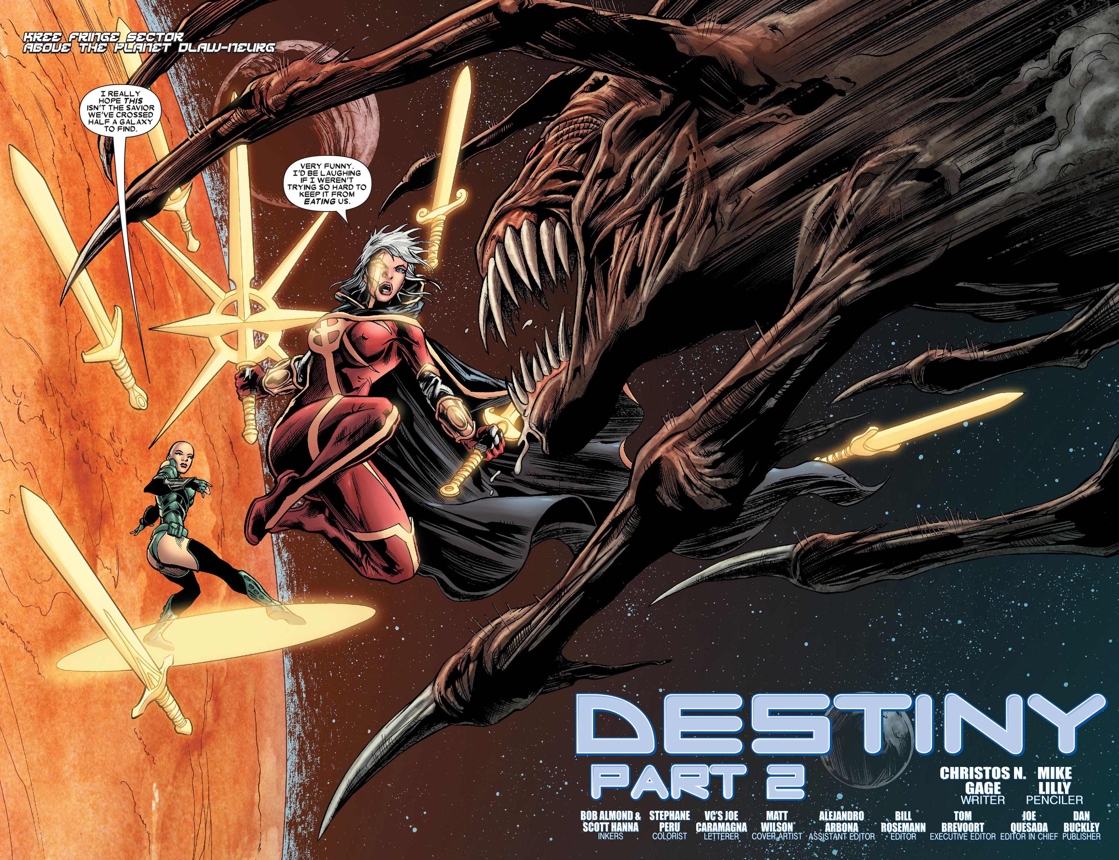 Read online Annihilation: Conquest - Quasar comic -  Issue #2 - 3