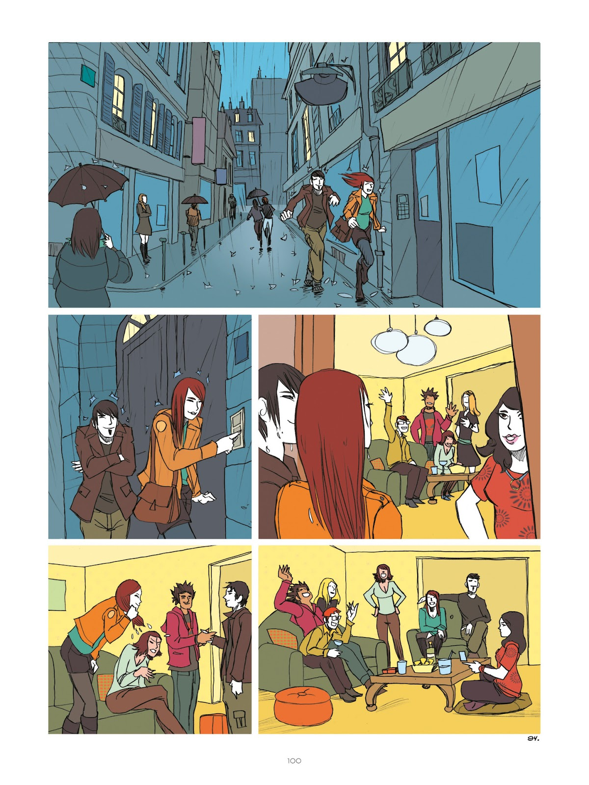 Read online Diary of A Femen comic -  Issue # TPB - 102