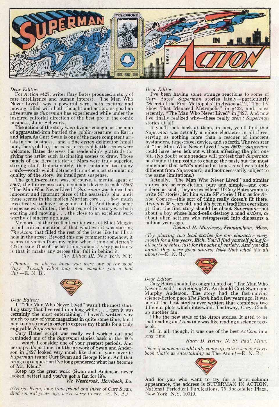 Read online Action Comics (1938) comic -  Issue #431 - 33