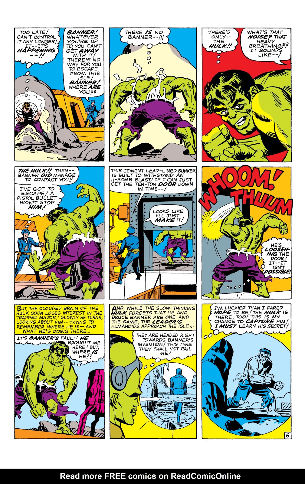 Read online Marvel Masterworks: The Incredible Hulk comic -  Issue # TPB 2 (Part 1) - 74