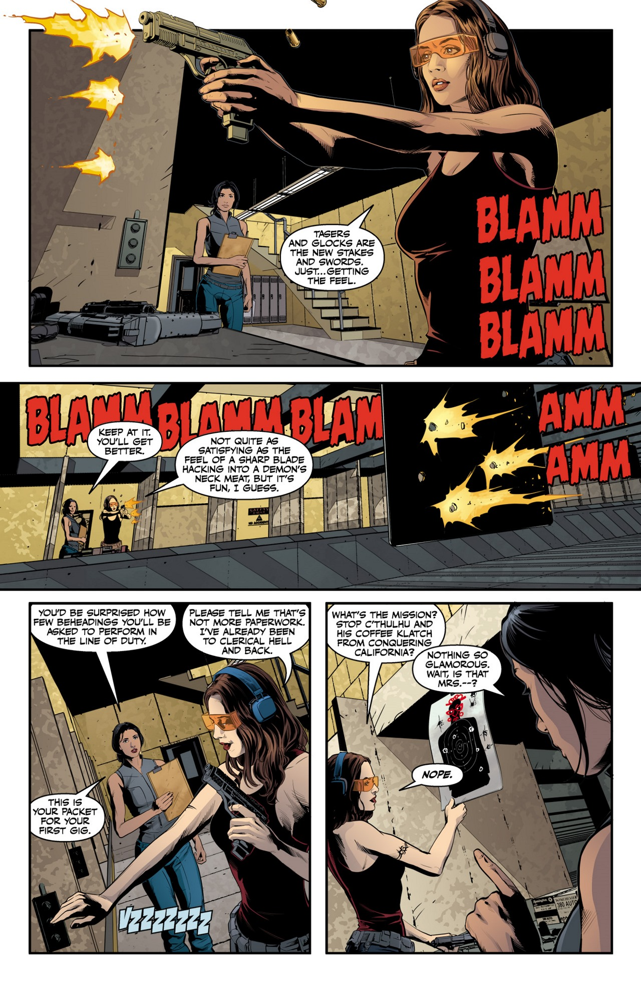 Read online Angel & Faith Season 10 comic -  Issue #2 - 14