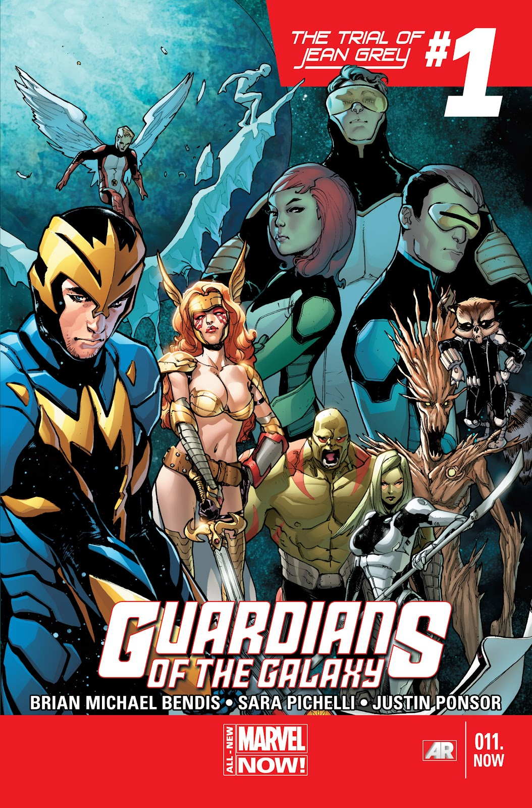 Guardians of the Galaxy/All-New X-Men: The Trial of Jean Grey issue TPB - Page 23
