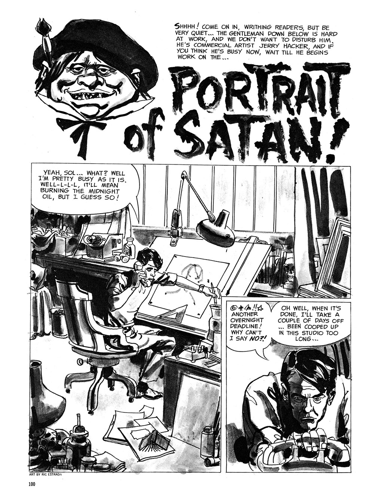 Read online Eerie Archives comic -  Issue # TPB 3 - 101