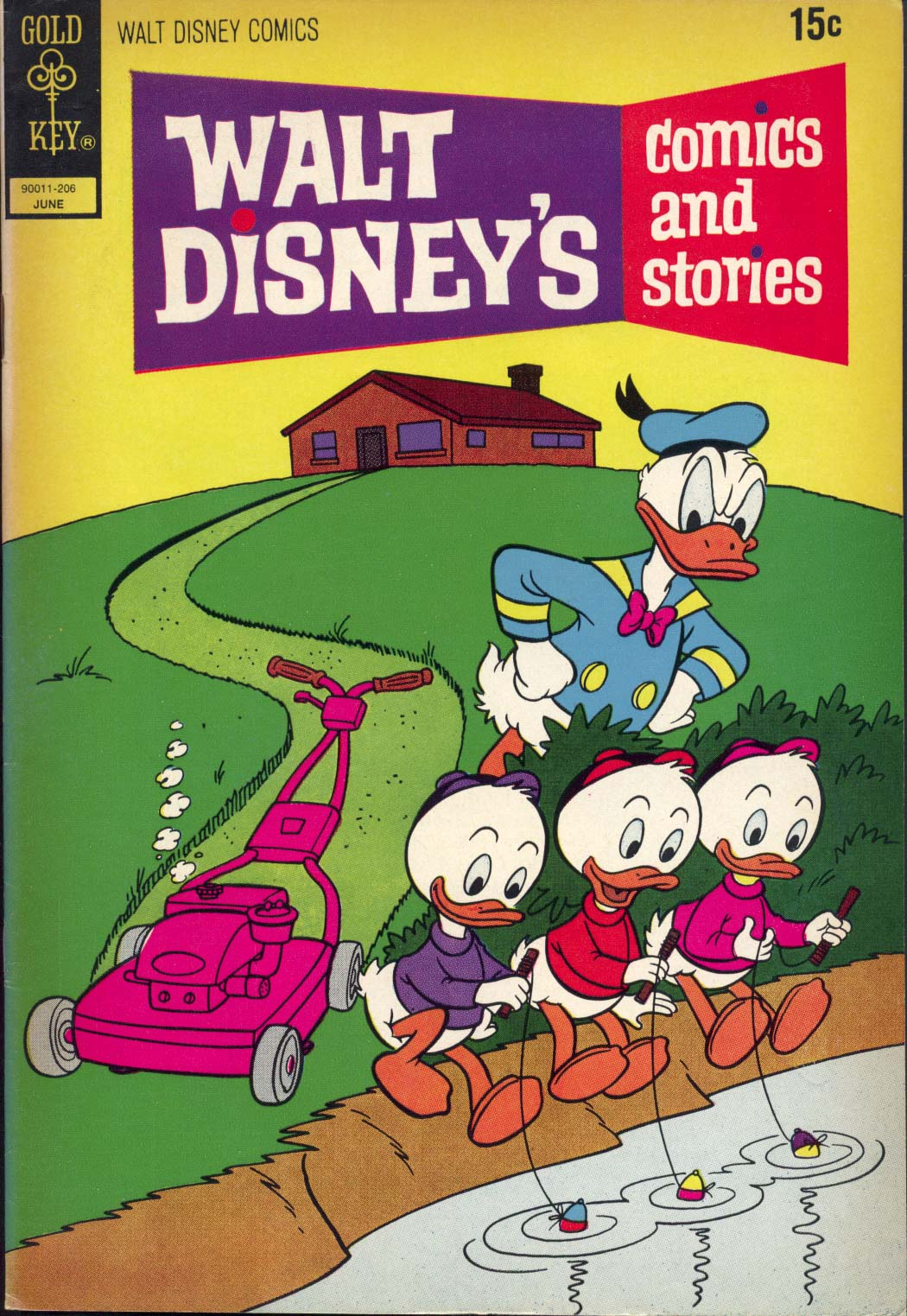 Walt Disney's Comics and Stories issue 381 - Page 1