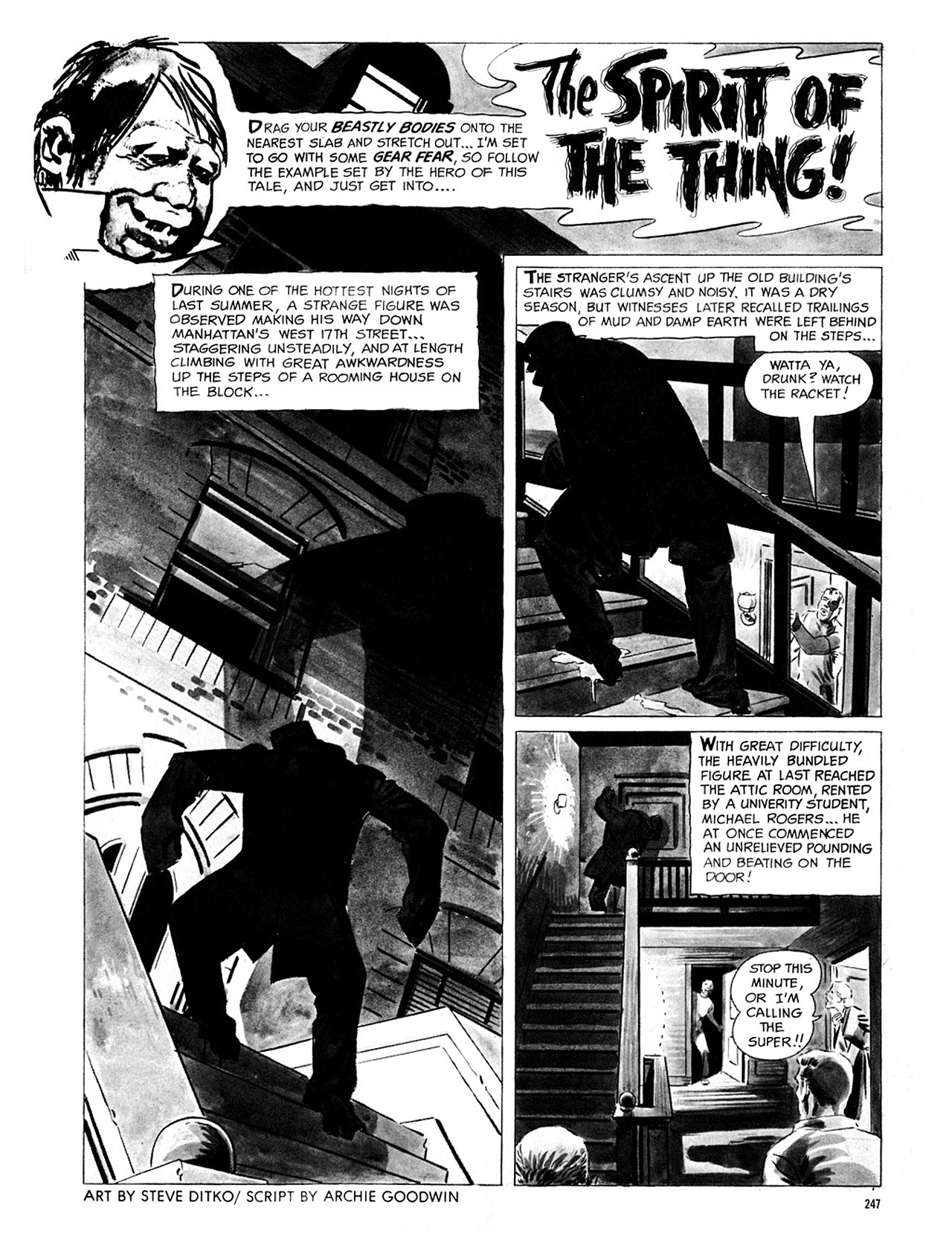 Read online Eerie Archives comic -  Issue # TPB 4 - 247