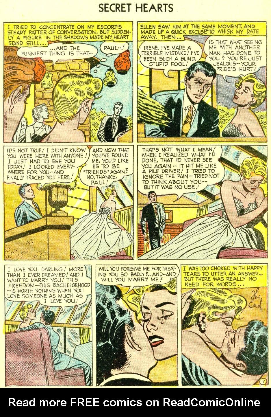 Read online Secret Hearts comic -  Issue #21 - 9