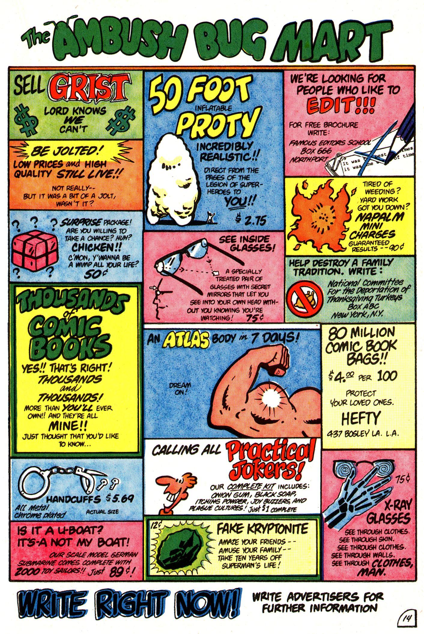Read online Ambush Bug comic -  Issue #3 - 19