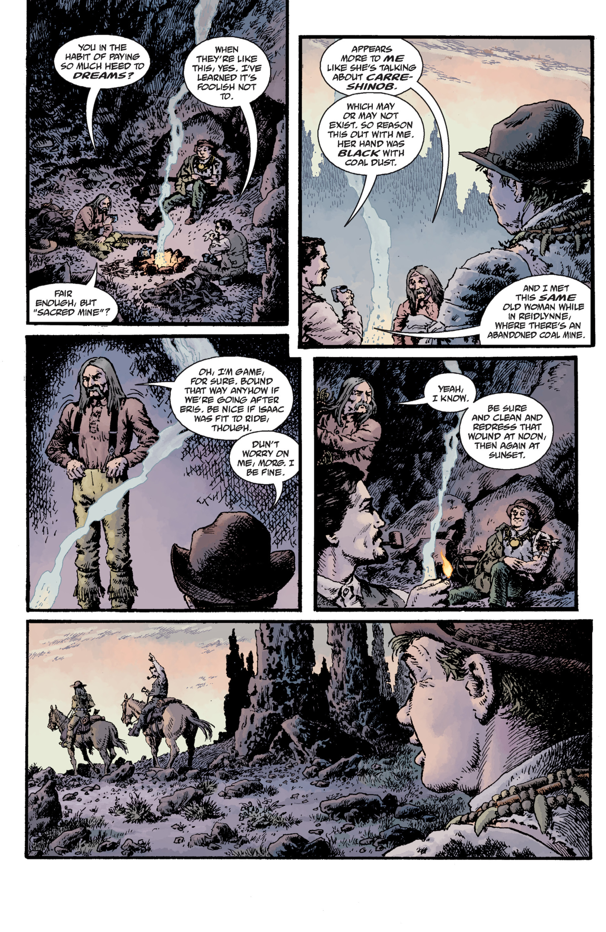 Read online Sir Edward Grey, Witchfinder: Lost and Gone Forever comic -  Issue # TPB - 81