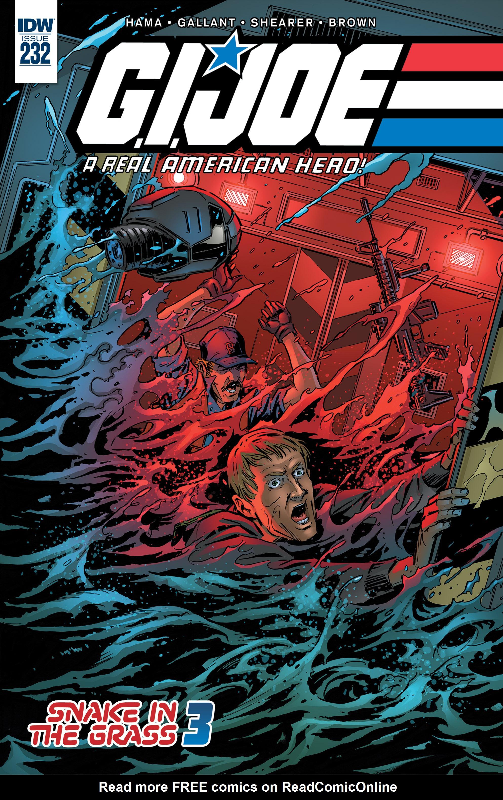 G.I. Joe: A Real American Hero 232 Page 1