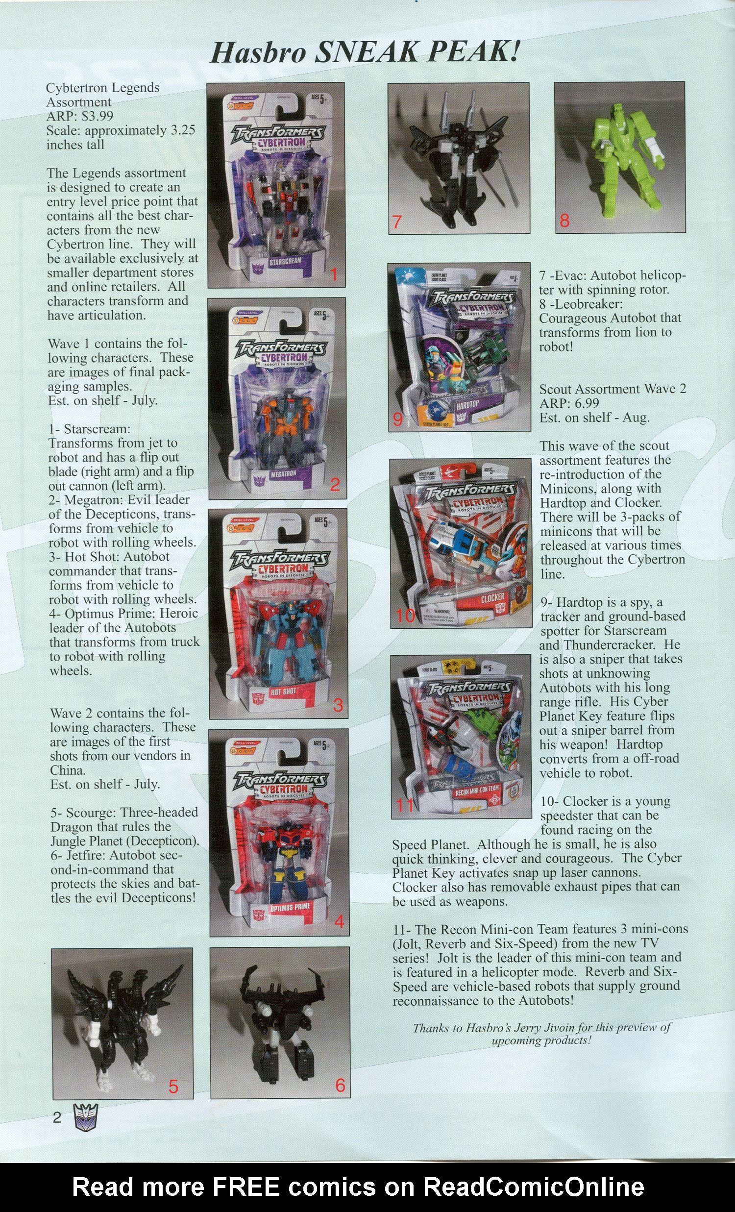 Read online Transformers: Collectors' Club comic -  Issue #3 - 2