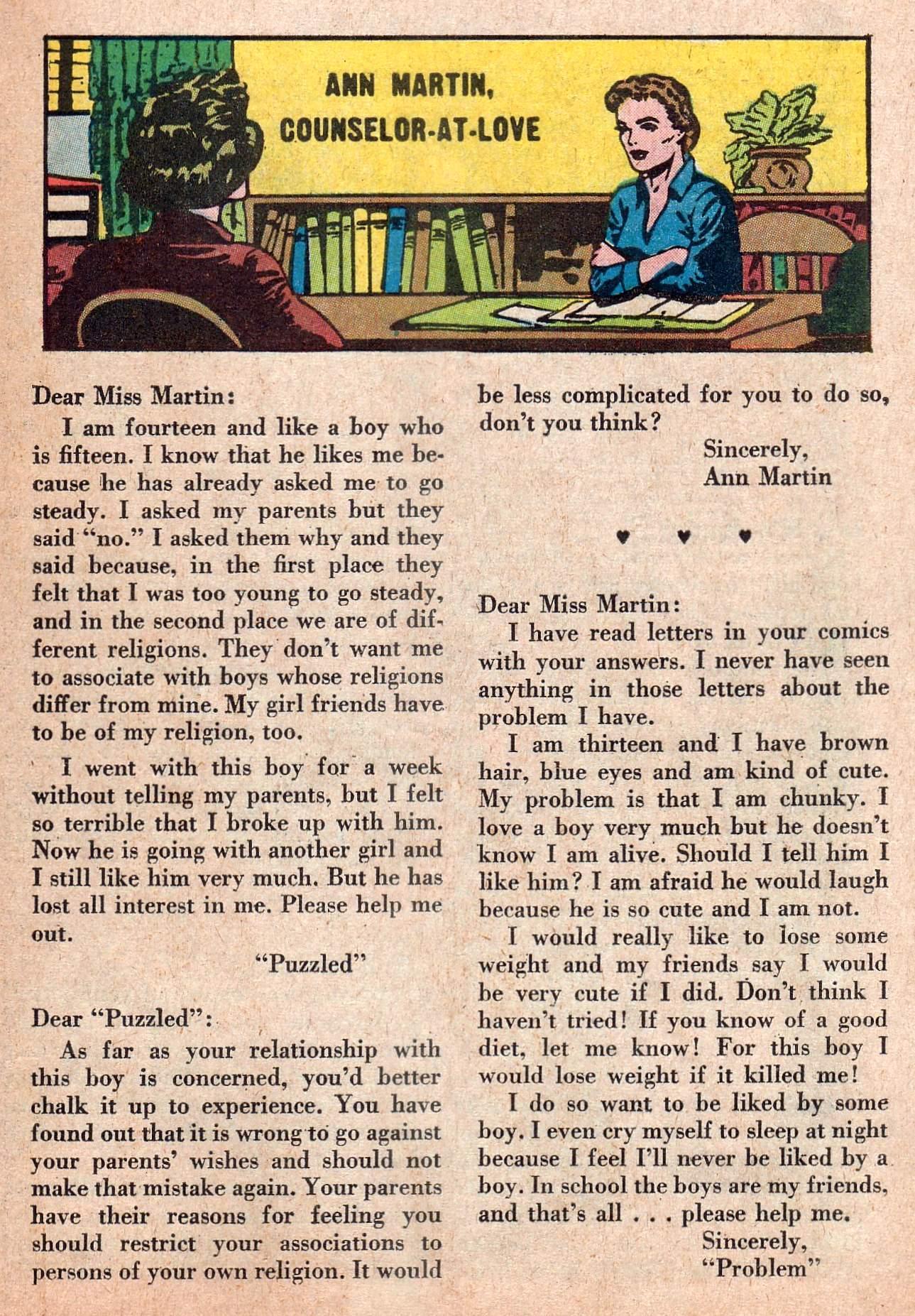Read online Secret Hearts comic -  Issue #73 - 25