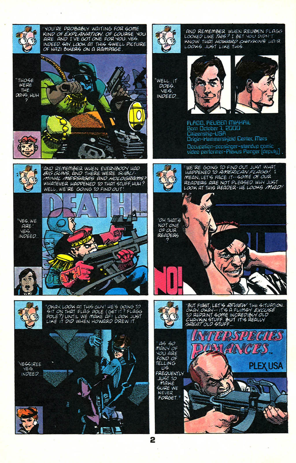 Read online American Flagg! comic -  Issue #46 - 4