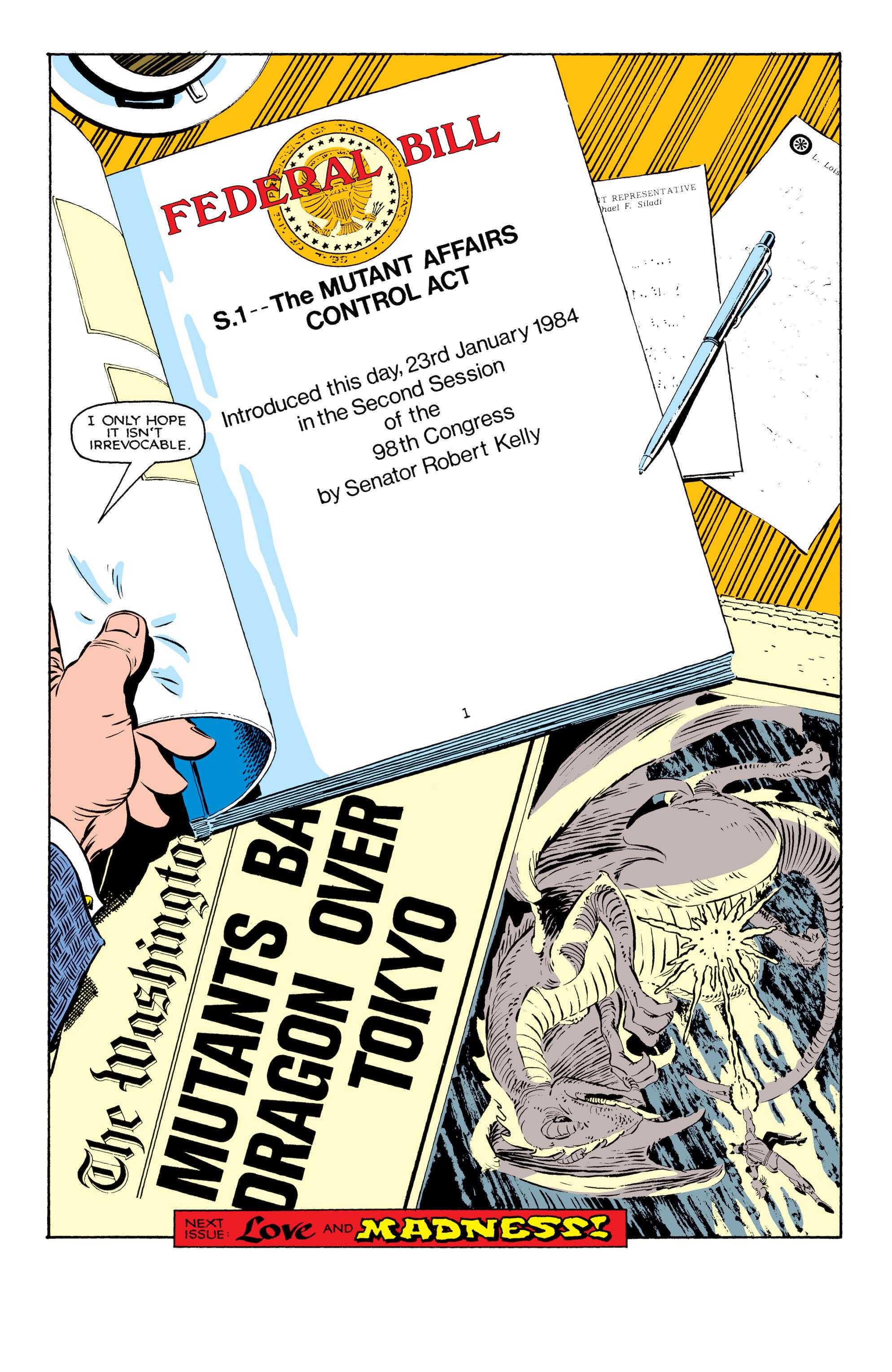Read online Uncanny X-Men (1963) comic -  Issue #181 - 22